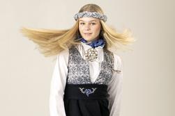 Maxemilia festdrakt Blå - Maxemilia