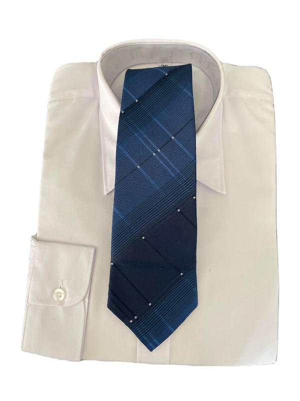 TILBUD Skjorter med slips Hvit - Guttogpike