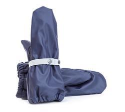 Regnvotter med fleece Marine - Salto